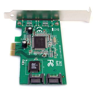 Startech 2 Port PCI Express interne SATA Controller 2 Port PCIe 2.0 x1 retail