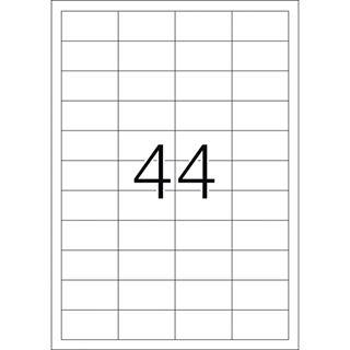 Herma 10914 extrem stark haftend Universal-Etiketten 4.83x2.54 cm (25