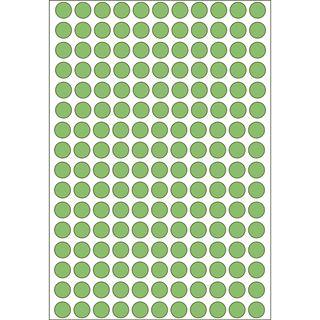 Herma 2215 gruen rund Vielzwecketiketten 0.8x0.8 cm (32 Blatt (5632 Etiketten))