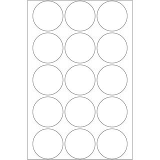 Herma 2277 rund Verschlussetiketten 3.2x3.2 cm (20 Blatt (240