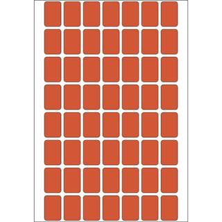 Herma 2342 rot Vielzwecketiketten 1.2x1.8 cm (32 Blatt (1792 Etiketten))