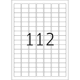 Herma 4211 Universal-Etiketten 2.54x1.69 cm (25 Blatt (2800 Etiketten))