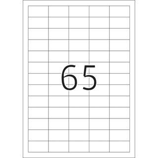 Herma 4388 Tiefkühletiketten 3.8x2.12 cm (25 Blatt (1625 Etiketten))