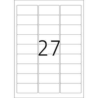Herma 4418 ablösbar Namensetiketten 6.35x2.96 cm (25 Blatt (675 Etiketten))