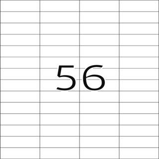Herma 4609 Premium Universal-Etiketten 5.25x2.12 cm (200 Blatt (11200 Etiketten))