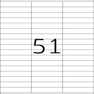 Herma 4611 Universal-Etiketten 7x1.69 cm (200 Blatt (10200 Etiketten))
