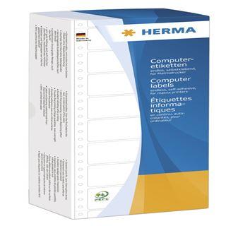 Herma 8210 weiß Computeretiketten 8.89x2.3 cm (6000 Stück)
