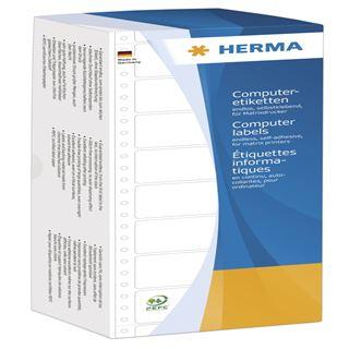 Herma 8212 weiß Computeretiketten 10.16x3.57 cm (4000