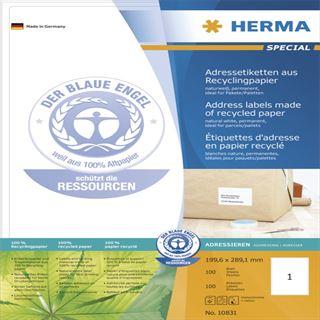 Herma 10831 für Paket/Päckchen Adressetiketten 19.96x28.91