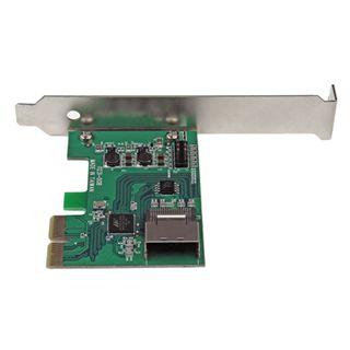 Startech PEXSAT34SFF 1 Port PCIe 2.0 x2 Low Profile retail