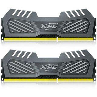 8GB ADATA XPG V2 grau DDR3-2400 DIMM CL11 Dual Kit