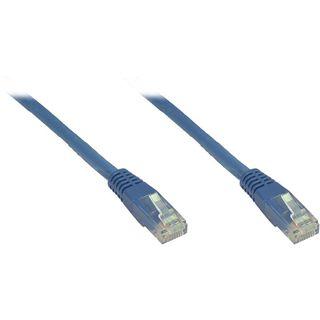 1.00m Good Connections Cat. 6 Patchkabel U/UTP RJ45 Stecker auf RJ45 Stecker Blau halogenfrei