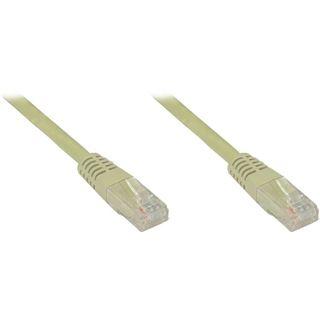 (€2,45*/1m) 2.00m Good Connections Cat. 6 Patchkabel U/UTP RJ45 Stecker auf RJ45 Stecker Grau halogenfrei