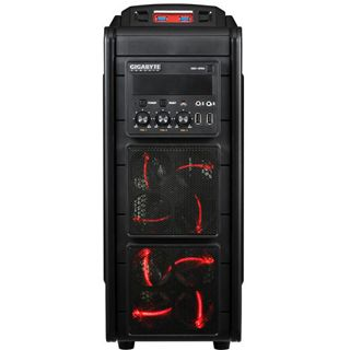 Gigabyte GZ-G3 Plus Midi Tower ohne Netzteil schwarz