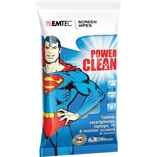 (€0,10*/1L) EMTEC Superman Display Reinigungstuch 50 Stück