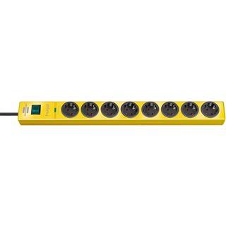 (€13,95*/1m) 2.00m Brennenstuhl Steckdosenleiste mit Schalter Gelb 8 (1150610368)