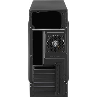 AeroCool V3X Advance Evil Black Edition Midi Tower ohne Netzteil schwarz/orange