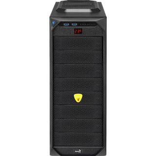 AeroCool VS-92 Black Edition Midi Tower ohne Netzteil schwarz