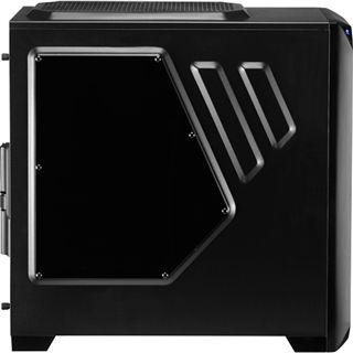AeroCool VS-92 Black Edition mit Sichtfenster Midi Tower ohne Netzteil schwarz