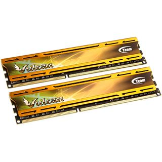 8GB TeamGroup Vulcan Series gold XMP DDR3-2400 DIMM CL11 Dual Kit