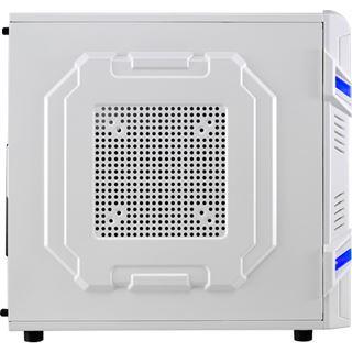 AeroCool GT White Edition Midi Tower ohne Netzteil weiss