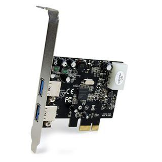 Startech PEXUSB3S2 2 Port PCIe x1 inkl. Low Profile Slotblech retail