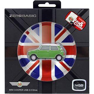 4 GB Platinum Mini Cooper gruen USB 2.0