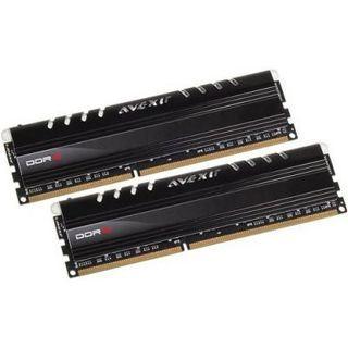 16GB Avexir Core Series blaue LED DDR3-2400 DIMM CL10 Dual Kit