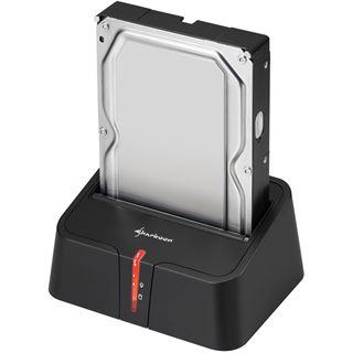 """Sharkoon SATA QuickPort XT USB3.0 Dockingstation für 2.5"""" und 3.5"""" Festplatten (4044951014057)"""