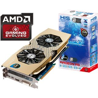 3GB HIS Radeon R9 280X IceQ X2 Turbo Aktiv PCIe 3.0 x16 (Retail)