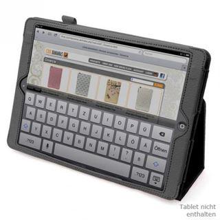 CoolBananas Wrapper Folio Ledertasche für iPadAir in schwarz