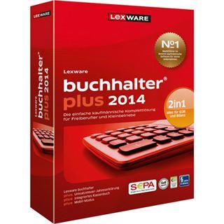 Lexware Buchhalter Plus 2014 32/64 Bit Deutsch Buchhaltungssoftware Vollversion PC (CD)