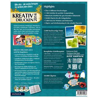 Franzis Kreativ Drucken 2014 Deutsch Grafik Vollversion PC (DVD)
