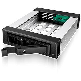 """RaidSonic ICY BOX IB-129SSK-B schwarzer 5,25"""" Wechselrahmen für 2.5"""" und 3.5"""" Festplatten (20048)"""