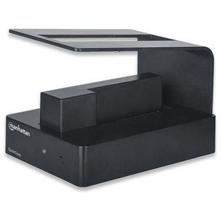 """Manhattan QucikDock USB 3.0 Dockingstation für 2.5"""" und 3.5"""" Festplatten (130356)"""