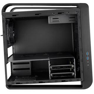 Xigmatek Aquila mit Sichtfenster Wuerfel ohne Netzteil schwarz