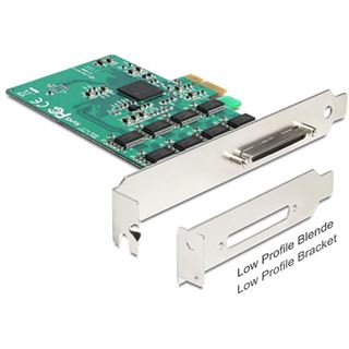 Delock 89336 1 Port Multi-lane PCIe x1 Low Profile retail
