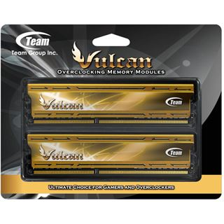 16GB TeamGroup Vulcan Series gold DDR3-2133 DIMM CL10 Dual Kit
