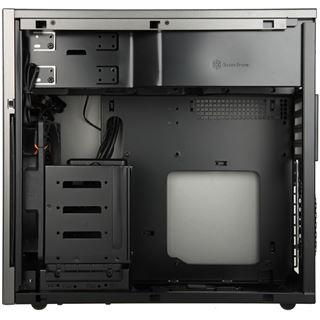 Silverstone SST-Temjin TJ08T-E USB 3.0 Midi Tower ohne Netzteil titan