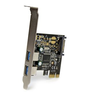 Startech PEXUSB3S23 2 Port PCIe x1 Low Profile retail