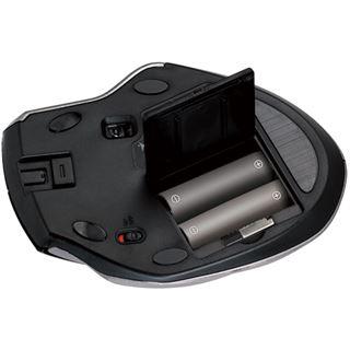 Genius Ergo 8800 USB schwarz/silber (kabellos)
