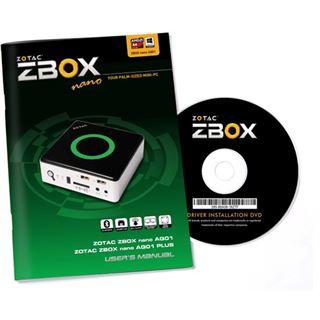 ZOTAC ZBOX nano AQ01 Plus BE Mini PC