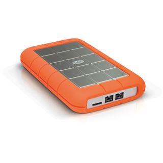 """1500GB LaCie Rugged Triple 9000454 2.5"""" (6.4cm) USB 3.0/2x Firewire 800 orange/silber"""