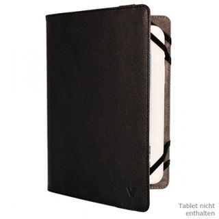 """V7 Universal Folio Case Tablet 10"""" schwarz"""