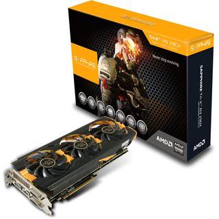 4GB Sapphire Radeon R9 290X Tri-X OC Aktiv PCIe 3.0 x16 (Full Retail)