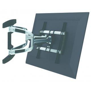 Equip 650314 Wandhalterung schwarz/silber