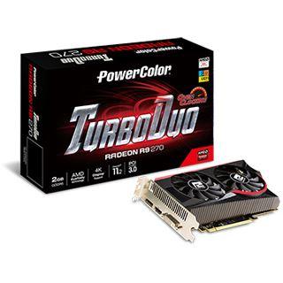 2GB PowerColor Radeon R9 270 TurboDuo Aktiv PCIe 3.0 x16 (Retail)