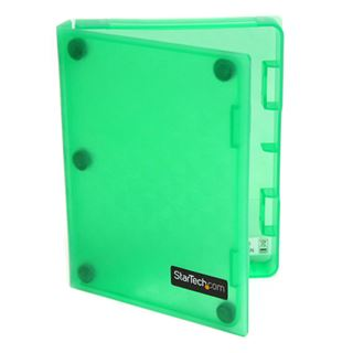 """Startech grüne Aufbewahrung für 2,5"""" Festplatten (HDDCASE25GN)"""