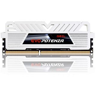 16GB GeIL EVO Potenza White Series DDR3-2666 DIMM CL11 Quad Kit