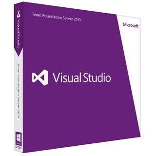 Microsoft Visual Studio 2013 Team Foundation Server 32/64 Bit Deutsch Grafik FPP PC (DVD)